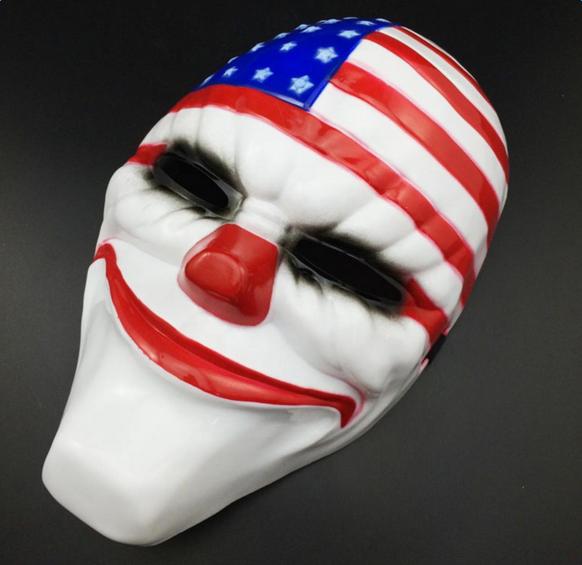 Halloween Decoration American Flag Style Mask