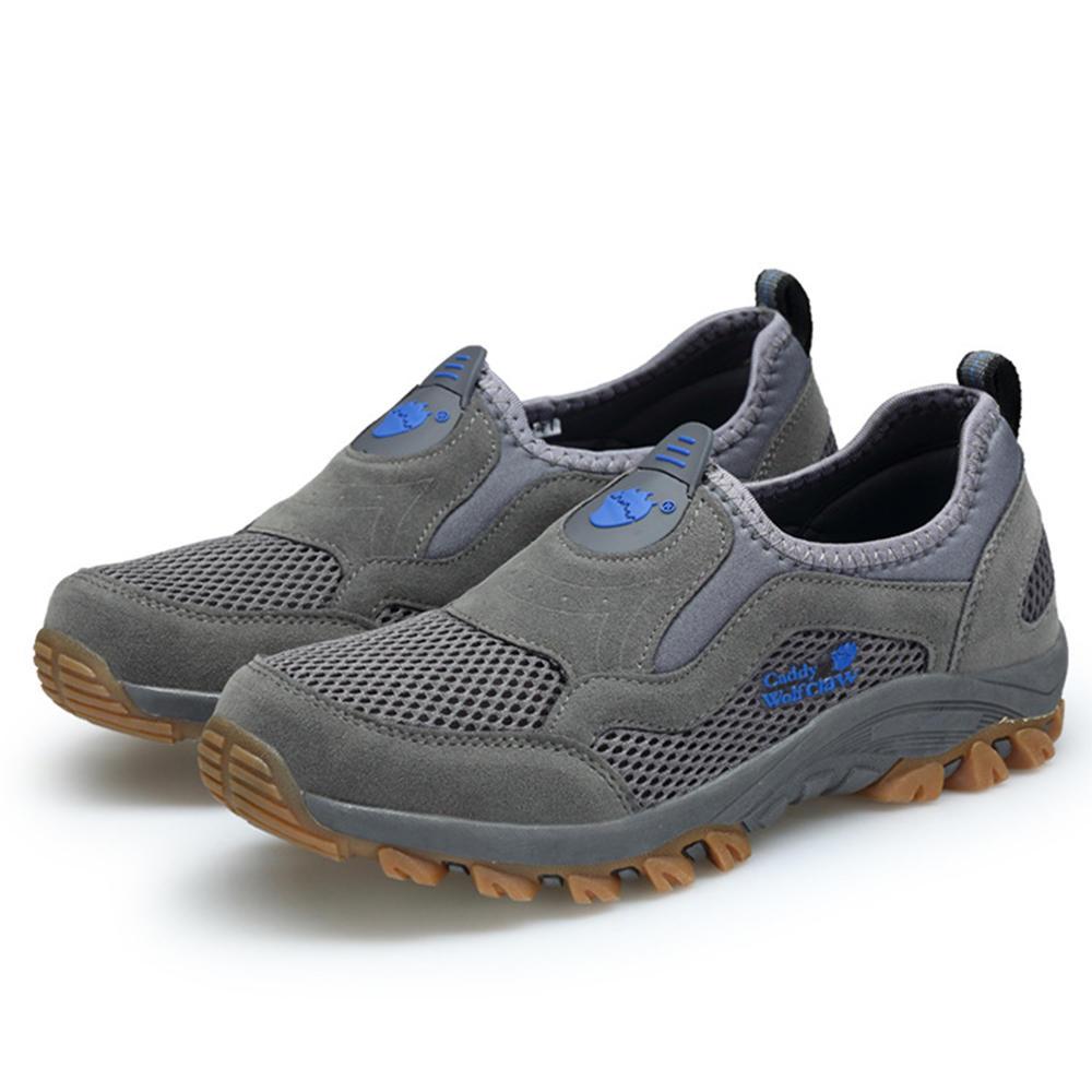 Wear Resistant Non-Slip Outdoor Hiking Slip On Sneakers