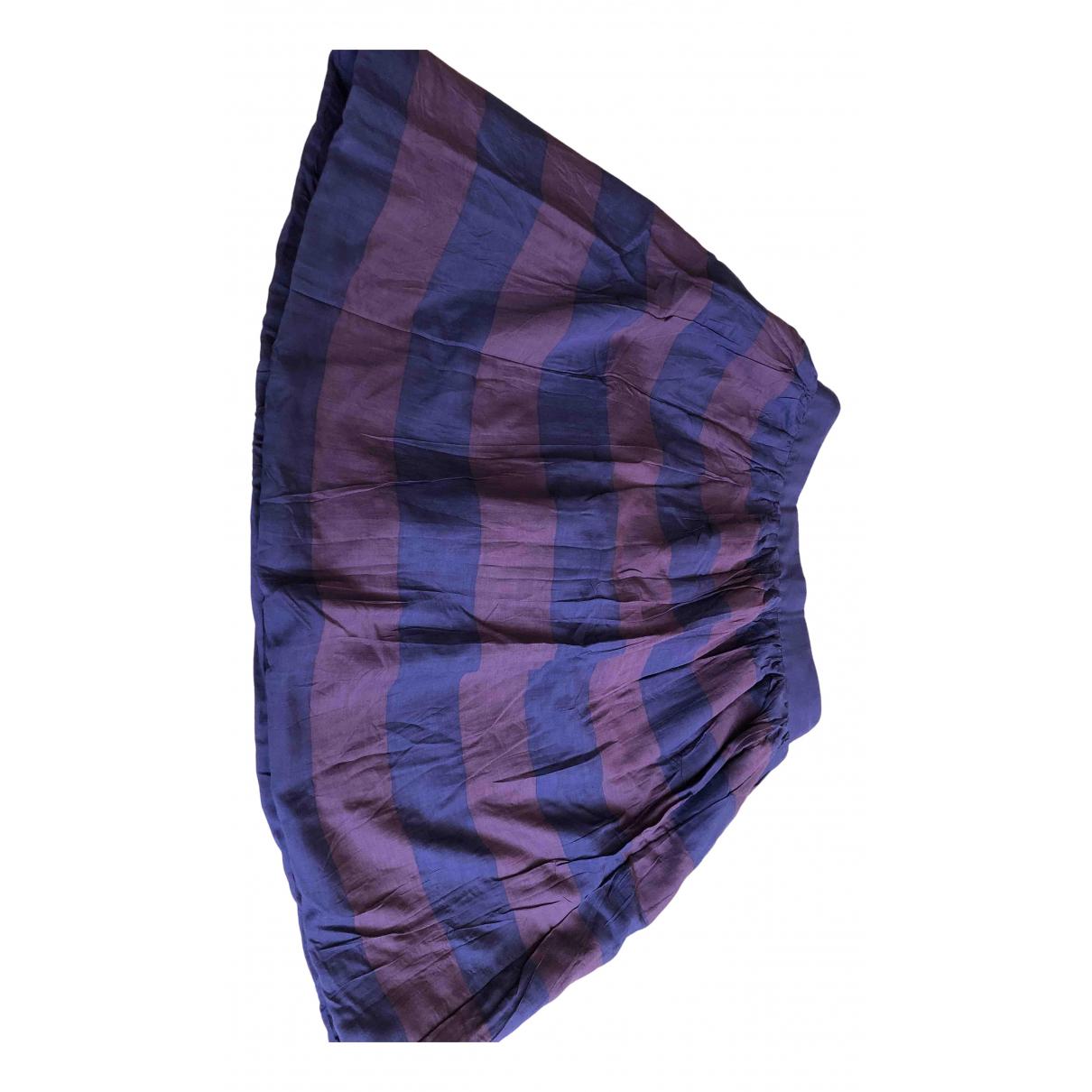 Burberry - Jupe   pour femme en coton - violet