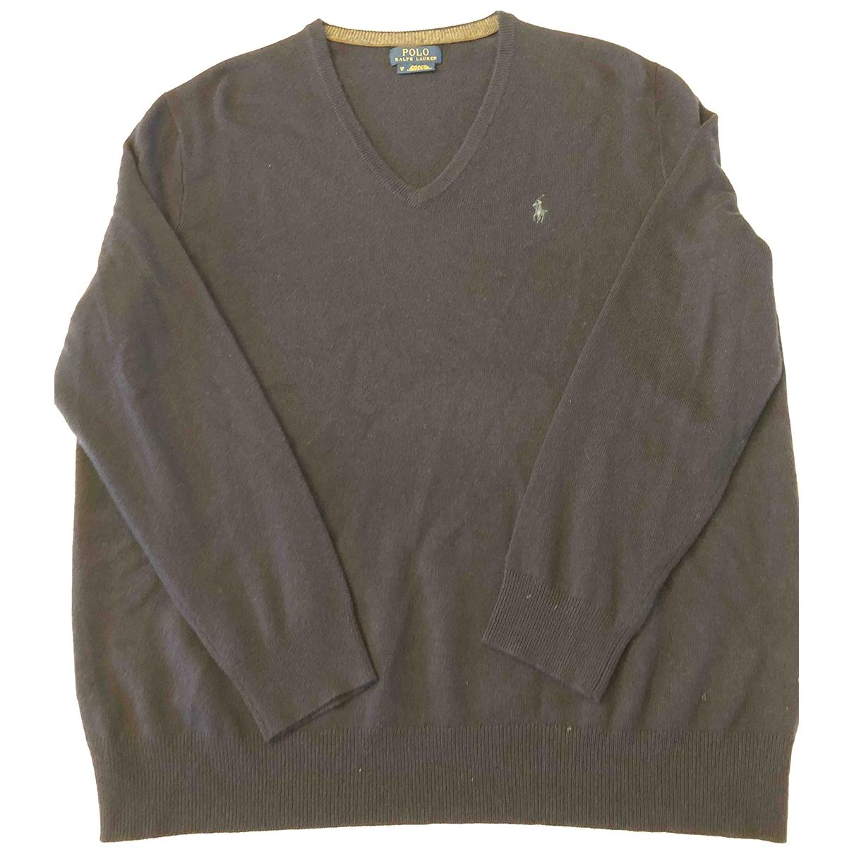 Polo Ralph Lauren \N Blue Wool Knitwear & Sweatshirts for Men XXXL International