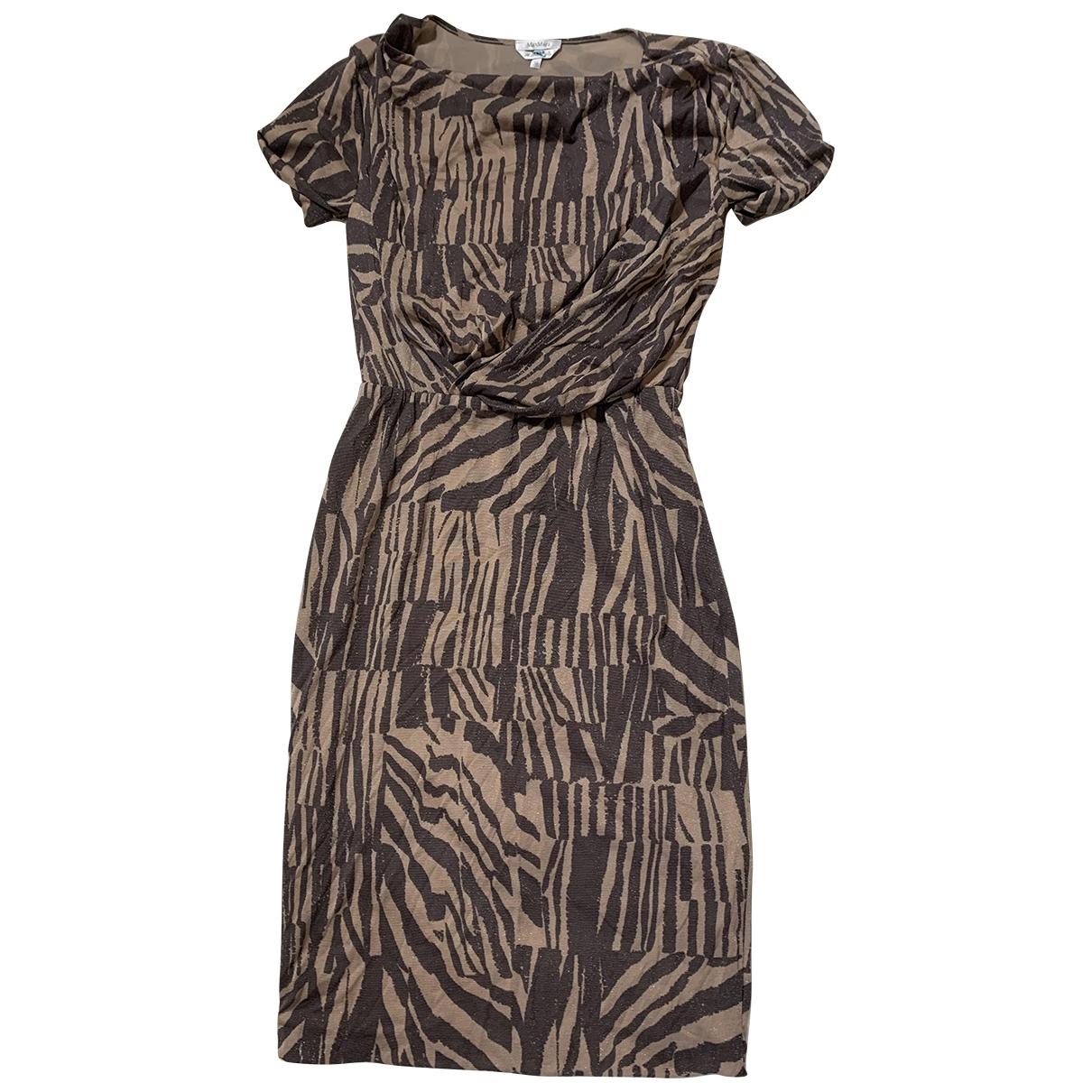 Max Mara \N Beige dress for Women 38 FR