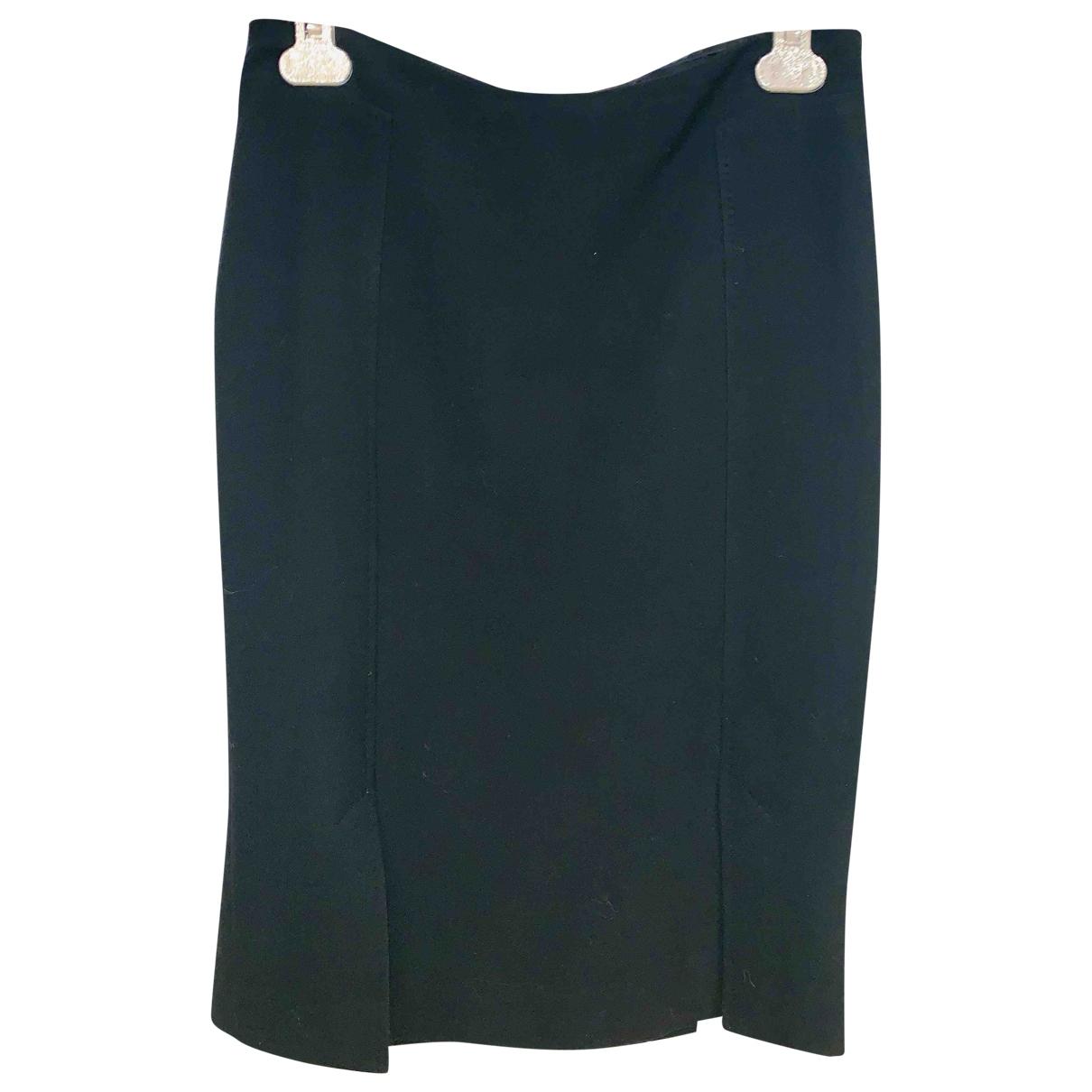 Versace - Jupe   pour femme en laine - noir