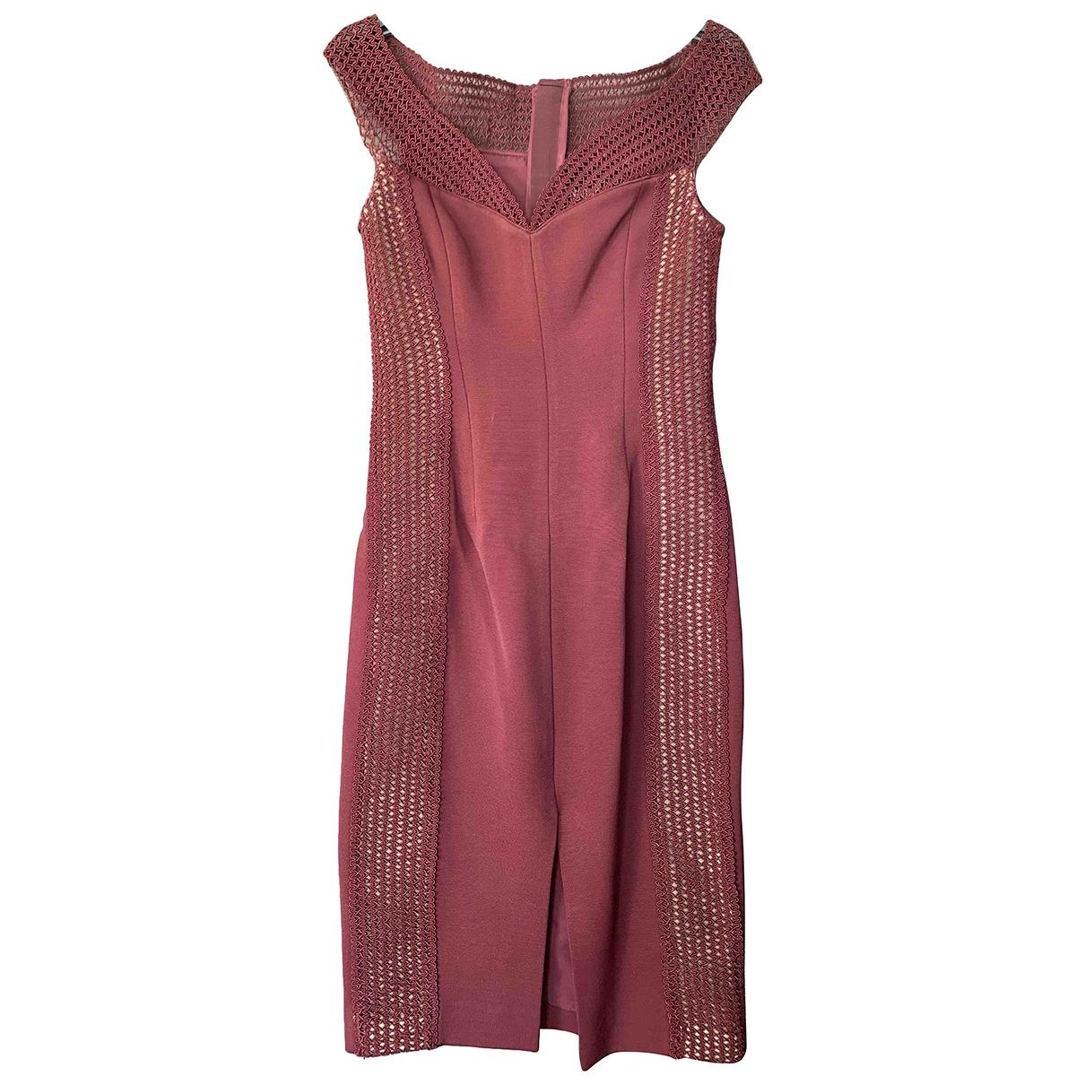 Nicholas \N Burgundy dress for Women 8 UK