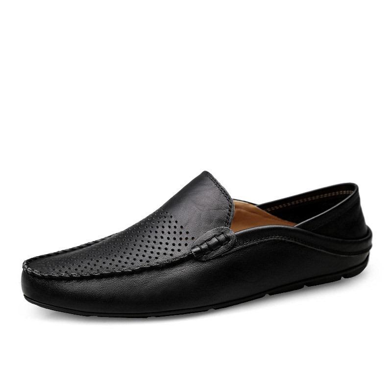 Ericdress PU Hollow Low-Cut Upper Men's Work Shoes