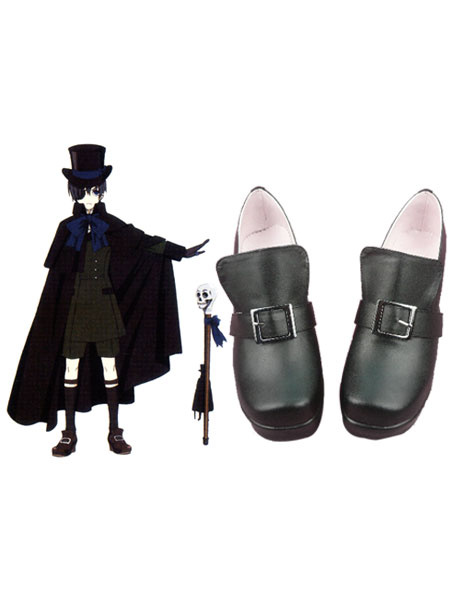 Milanoo Black Butler Kuroshitsuji Ciel Halloween Cosplay Shoes Halloween
