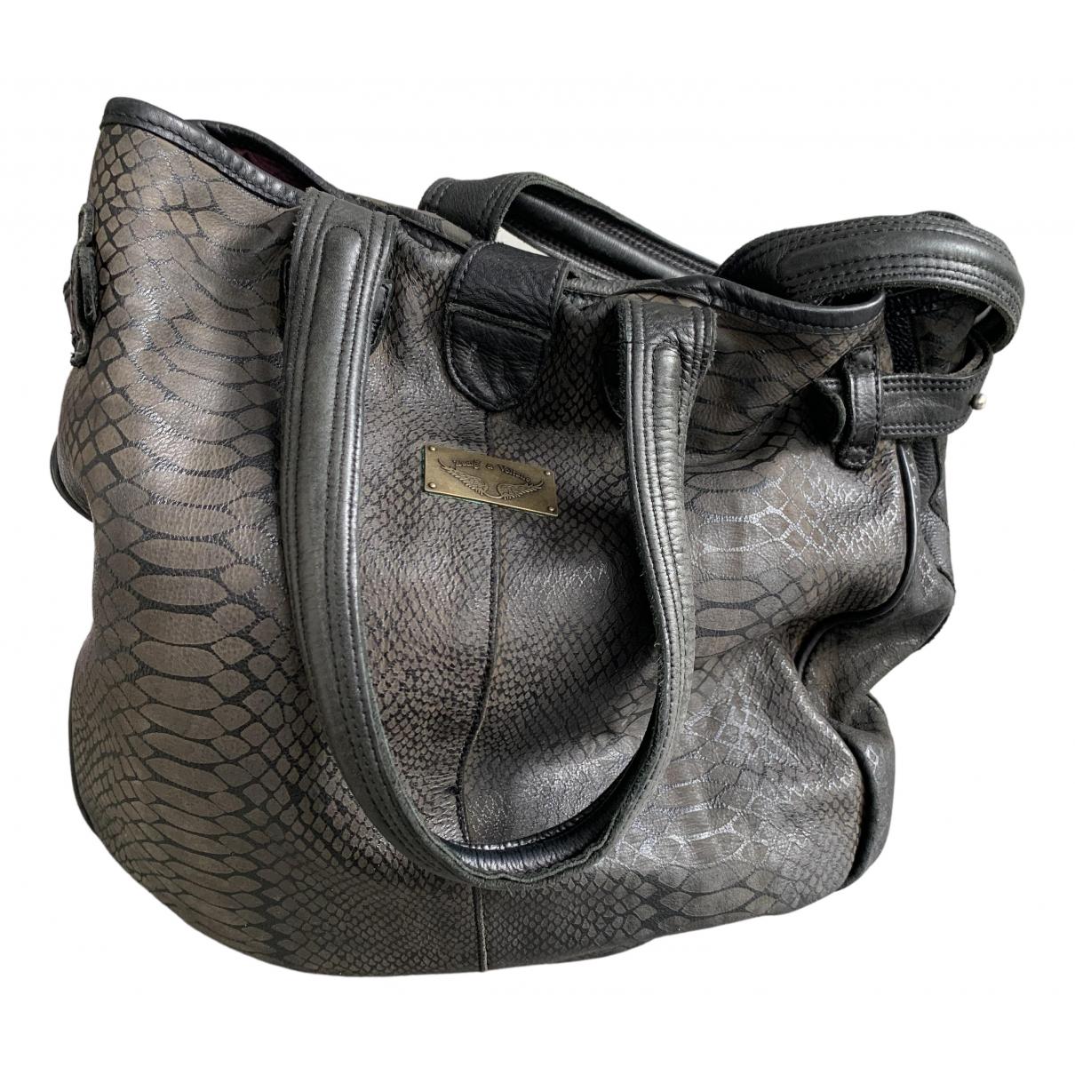 Zadig & Voltaire N Brown Leather handbag for Women N