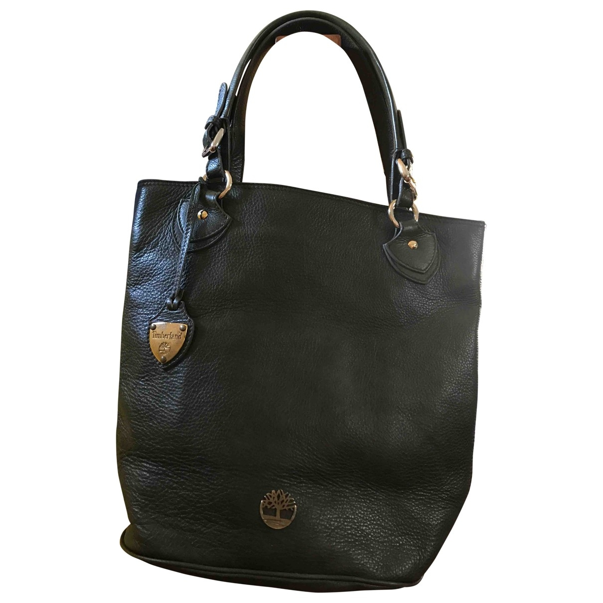 Timberland \N Handtasche in  Gruen Leder