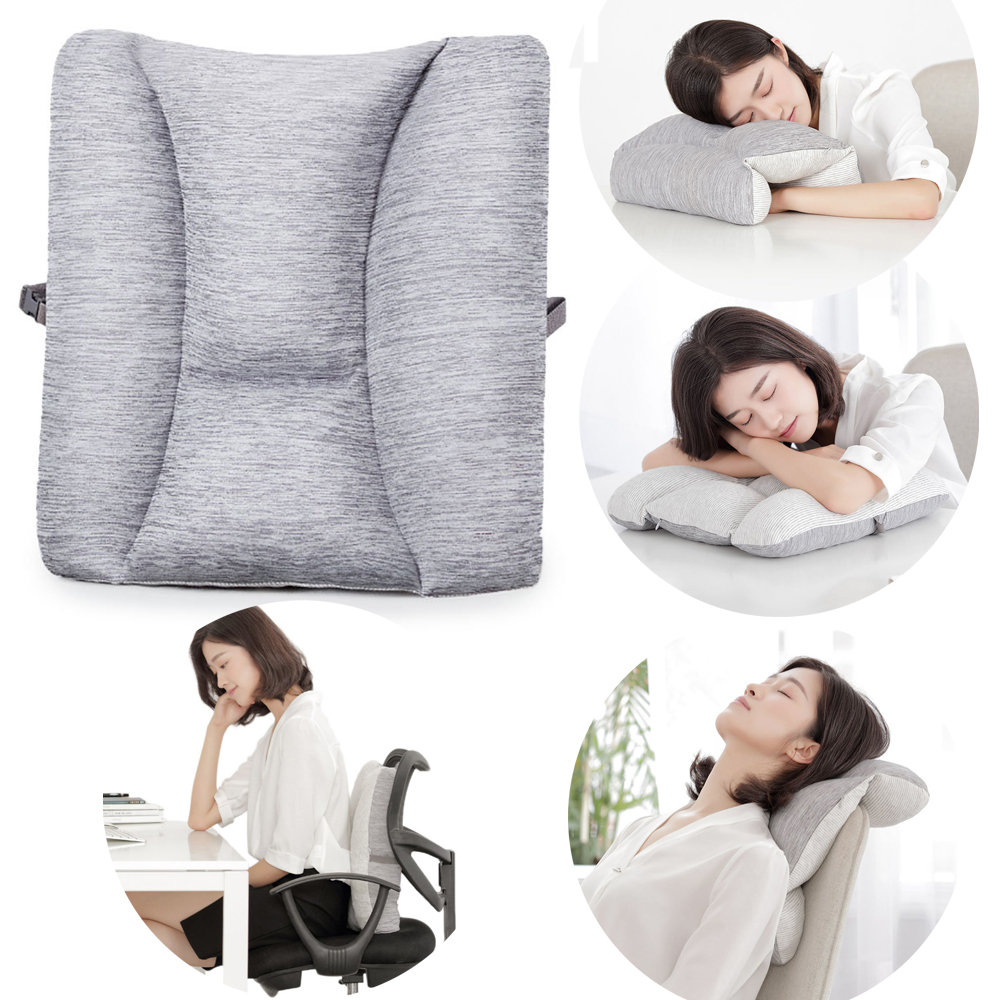 XIAOMI XLOONG 8H Adjustable Lumbar Cushion Back Support Pillow Cushion Office Car Sofa Seat Supports