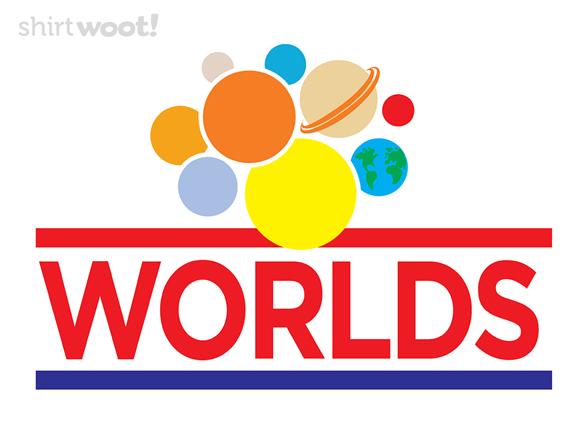 Wonder Worlds T Shirt