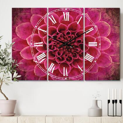 CLM12649-3P Dark Pink Abstract Flower