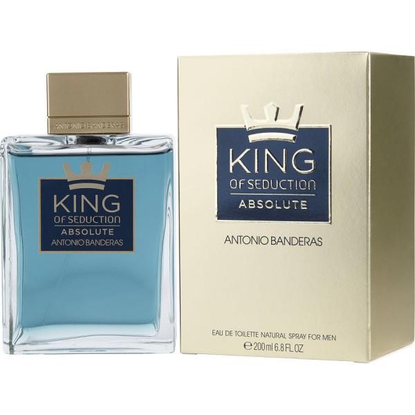King Of Seduction Absolute - Antonio Banderas Eau de toilette en espray 200 ml