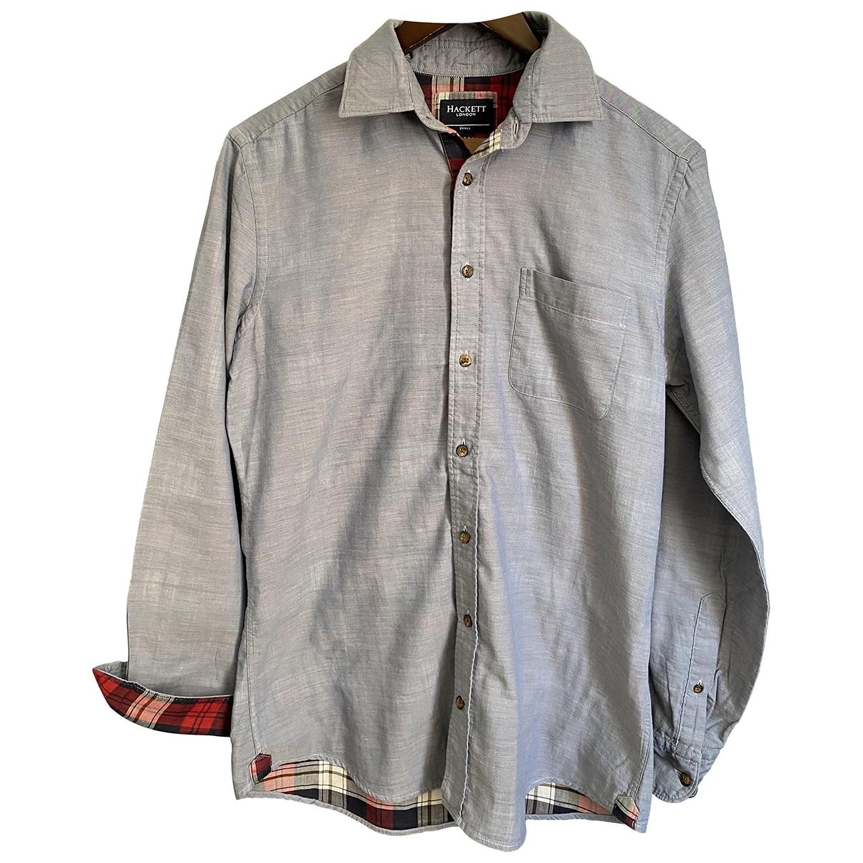 Hackett London \N Hemden in  Blau Baumwolle