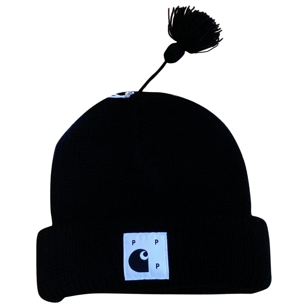 Carhartt - Chapeau & Bonnets   pour homme en laine - noir