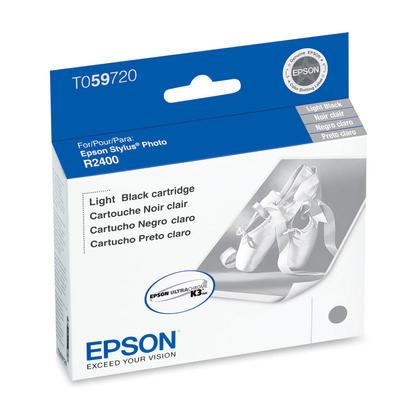 Epson T059720 Original Light Black Ink Cartridge