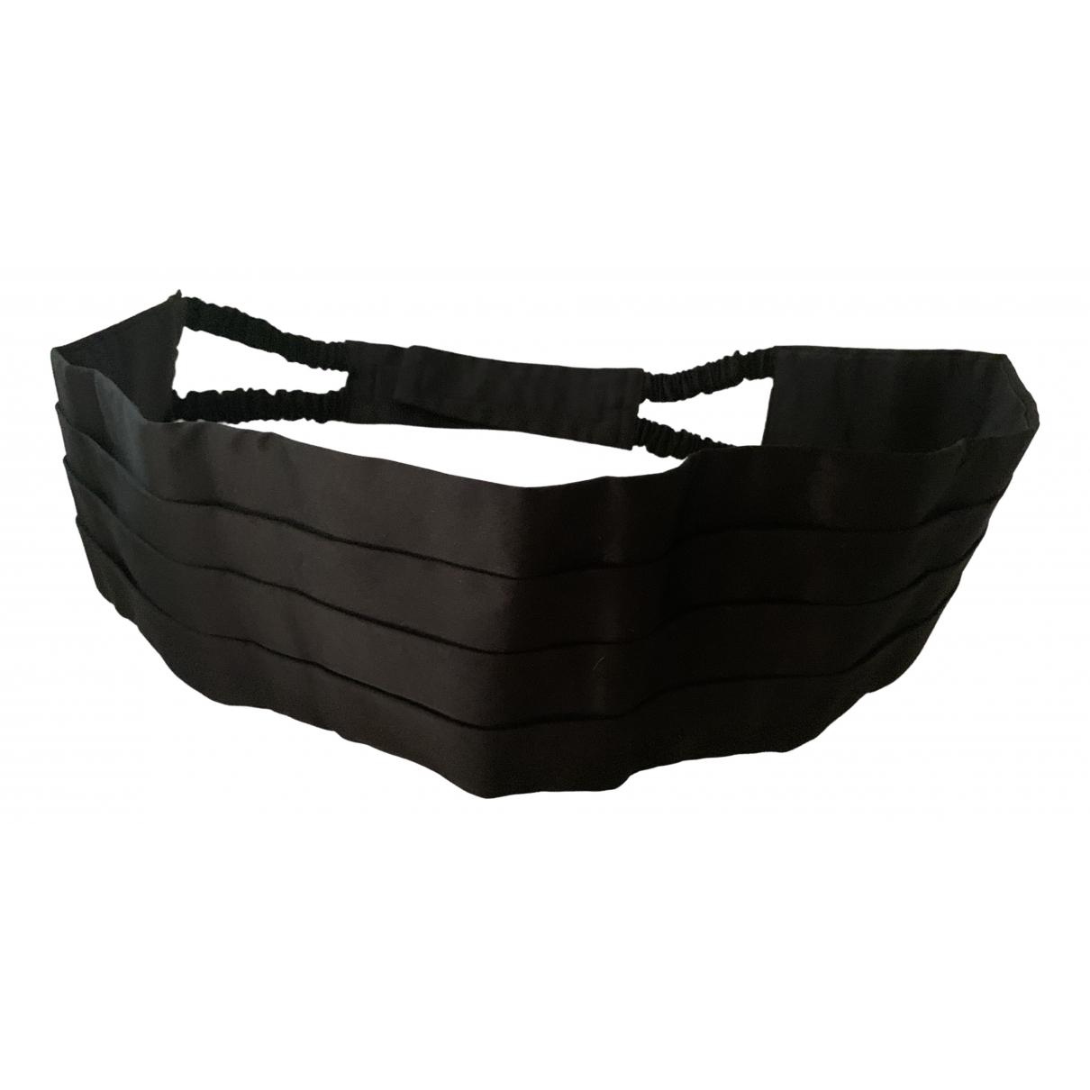 Brioni \N Black Cloth belt for Men 100 cm