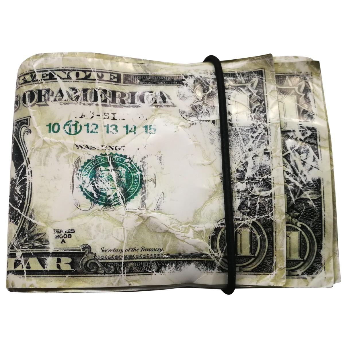 Maison Martin Margiela \N Beige Leather Small bag, wallet & cases for Men \N