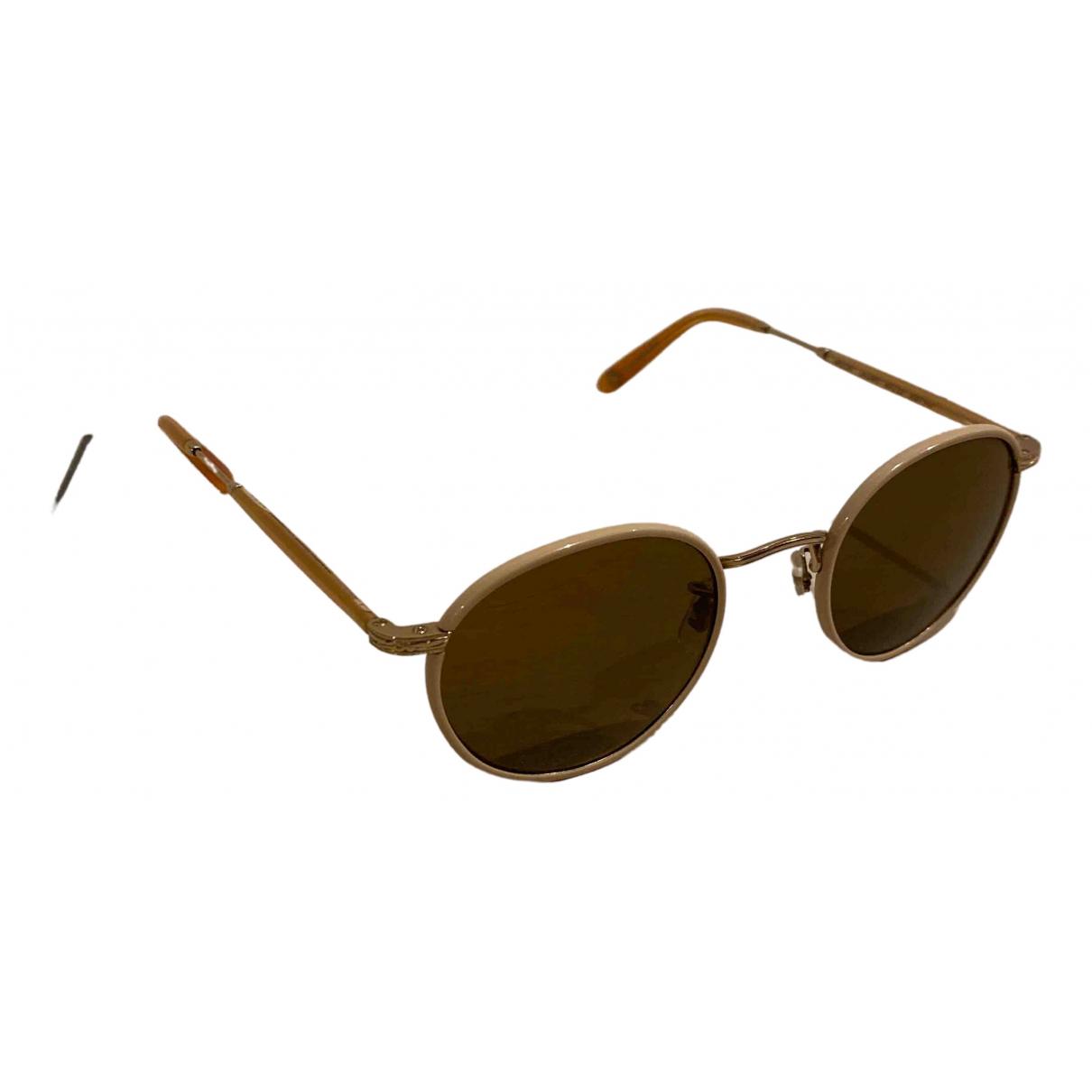 Garrett Leight N Beige Sunglasses for Women N