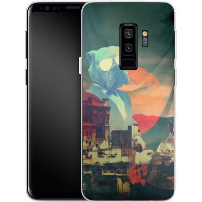 Samsung Galaxy S9 Plus Silikon Handyhuelle - Abracadabra von Ali Gulec