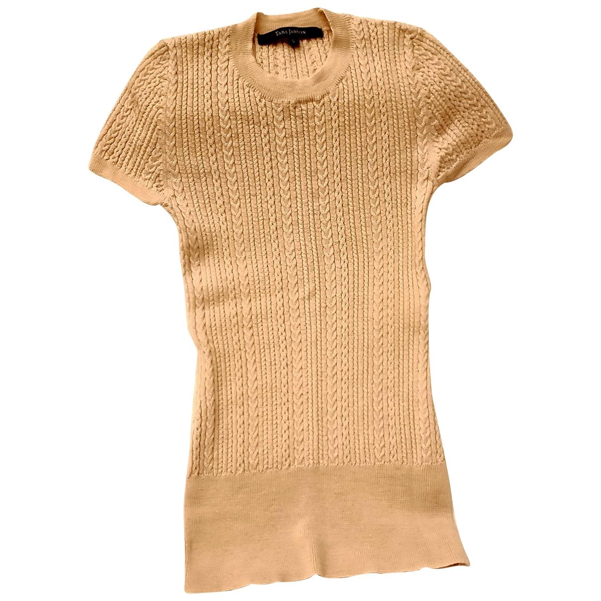 Tara Jarmon - Pull   pour femme en laine - beige