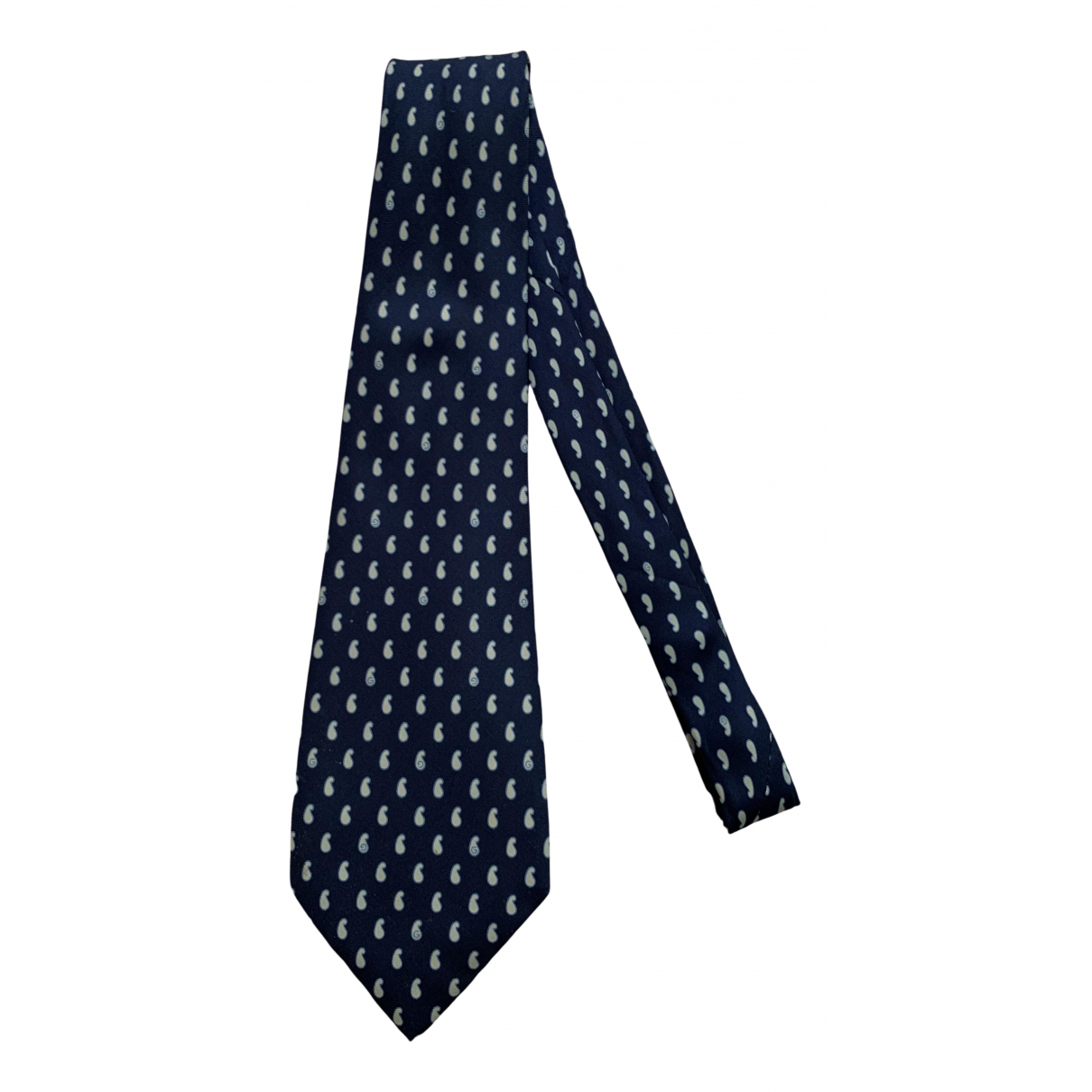 Gucci N Blue Silk Ties for Men N