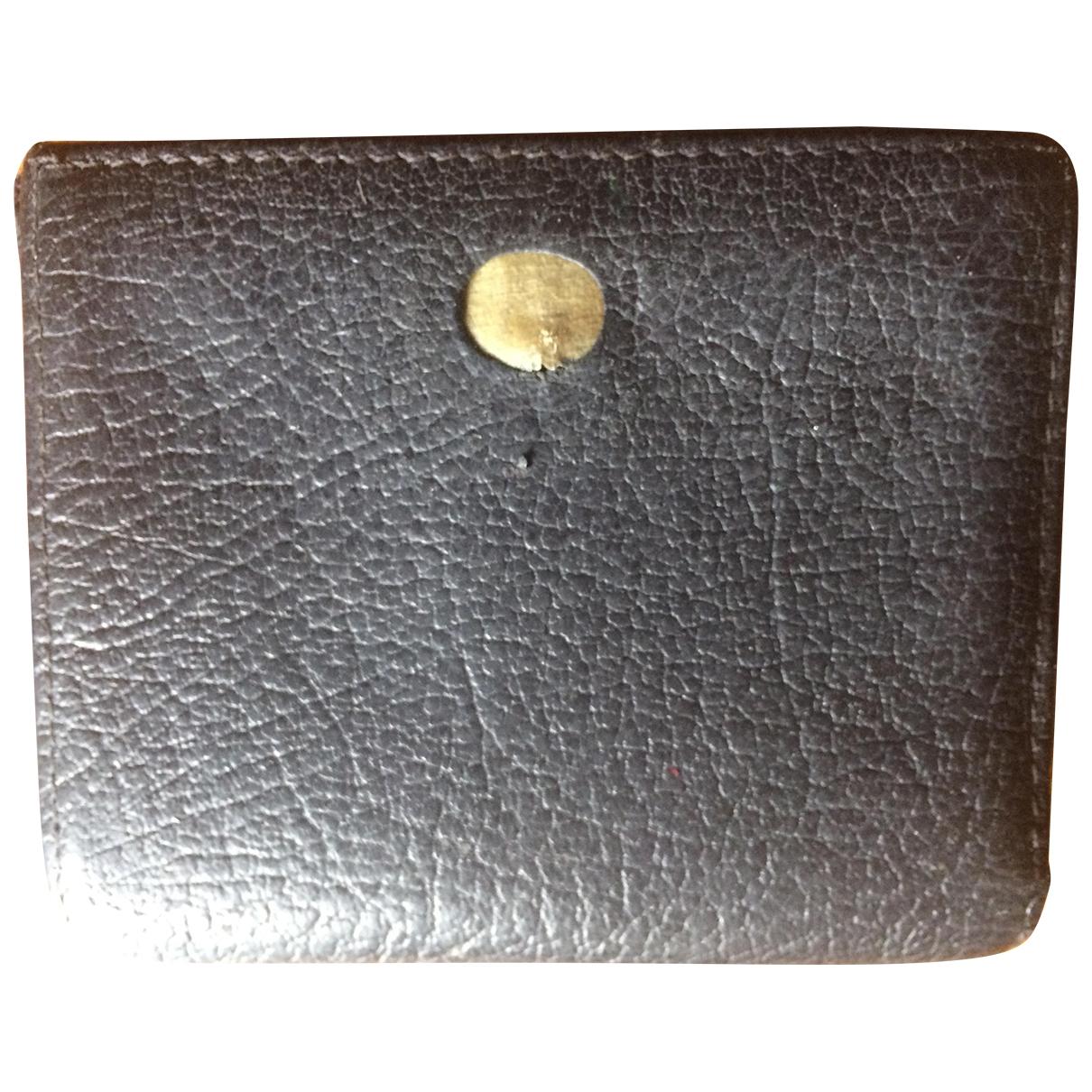Mac Douglas \N Black Leather Purses, wallet & cases for Women \N