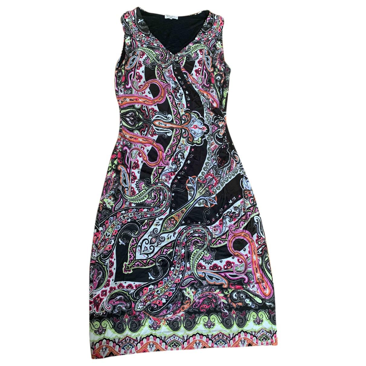 Etro \N Kleid in  Braun Viskose
