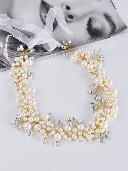 Milanoo Headpieces Wedding Hair Accessories For Bride