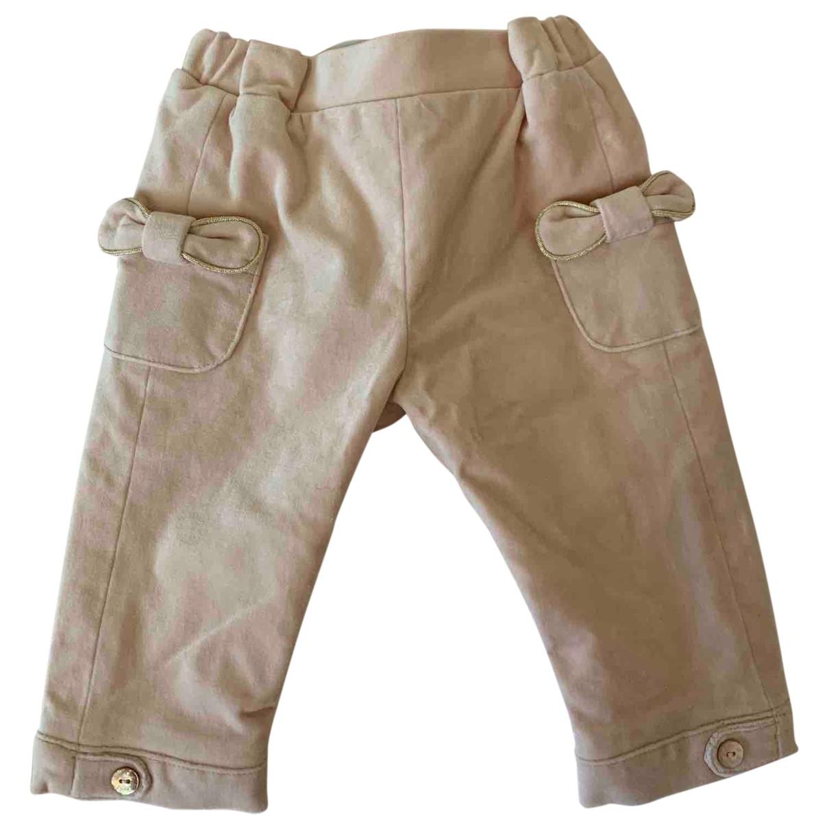 Tartine Et Chocolat - Pantalon   pour enfant en velours - rose