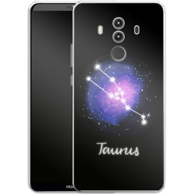 Huawei Mate 10 Pro Silikon Handyhuelle - TAURUS von Becky Starsmore
