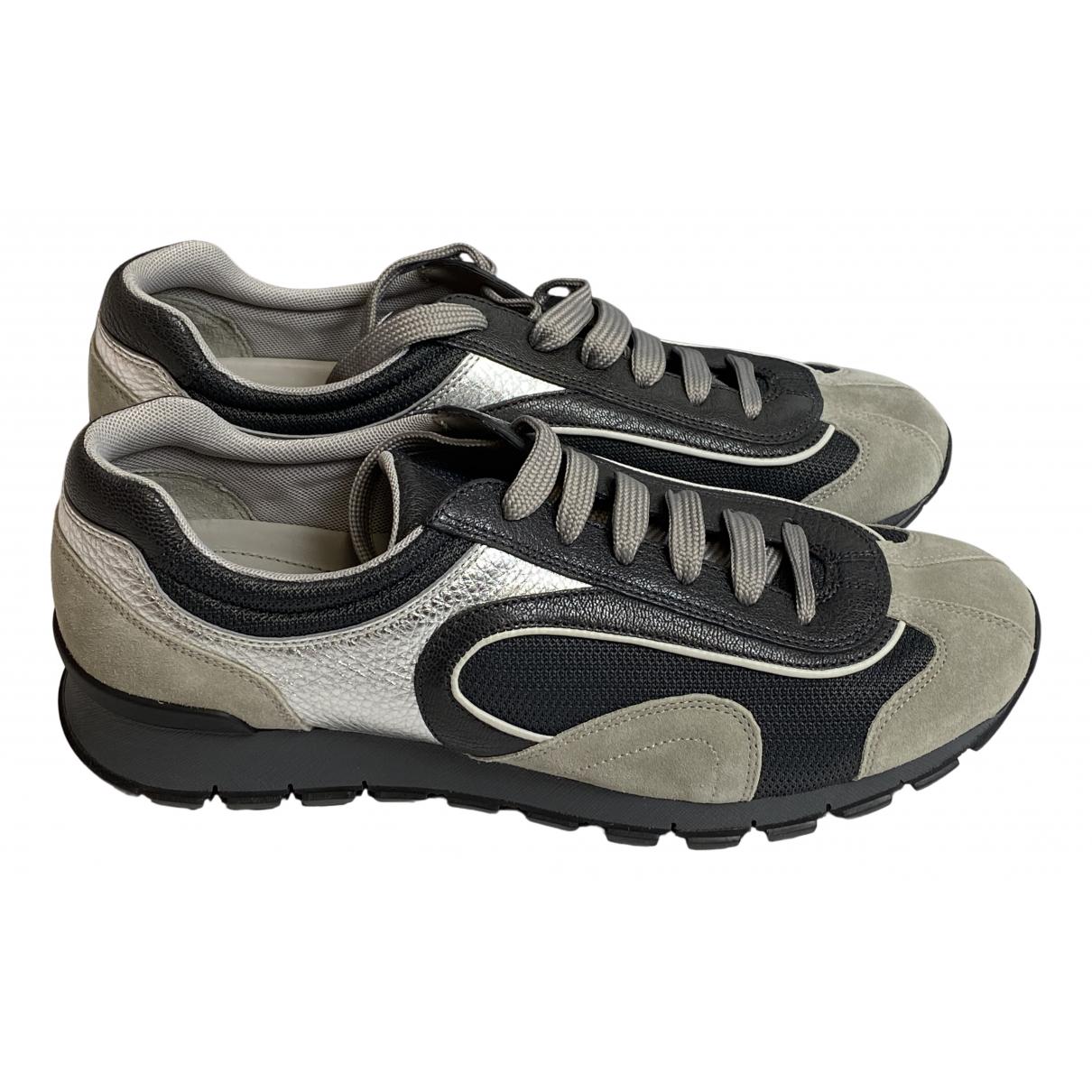 Prada \N Sneakers in  Bunt Leder