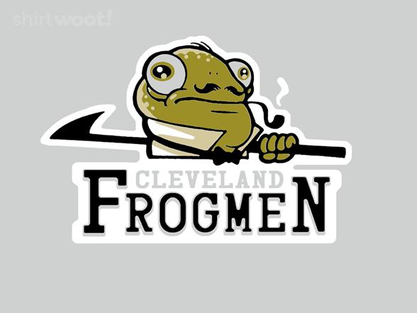 Cleveland Frogmen T Shirt