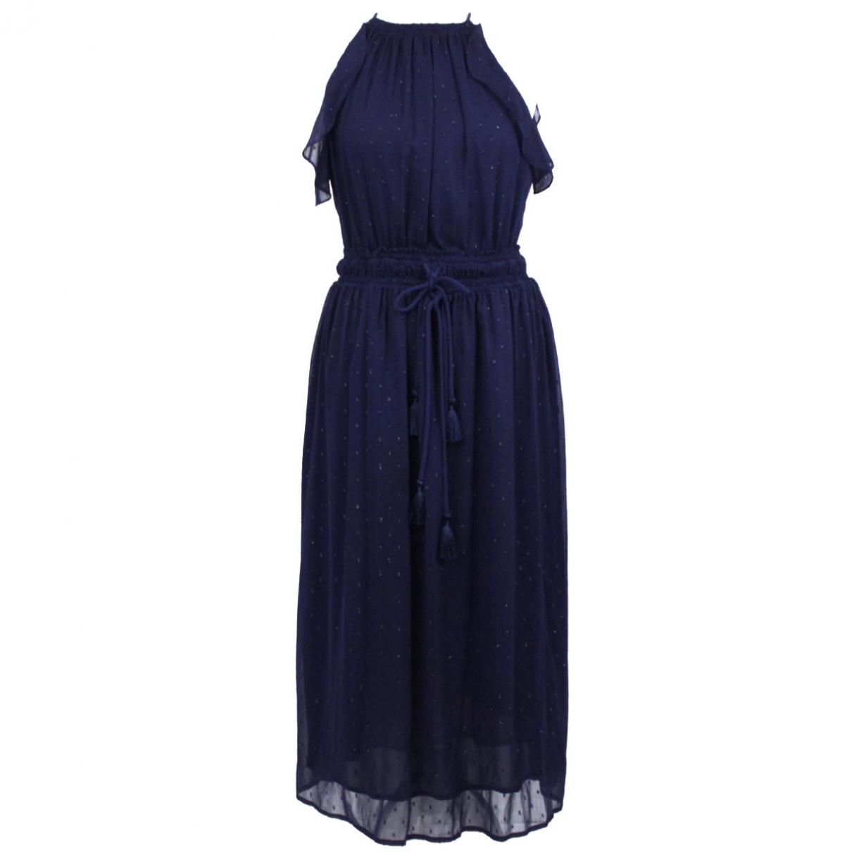 Michael Kors \N Kleid in  Marine Polyester