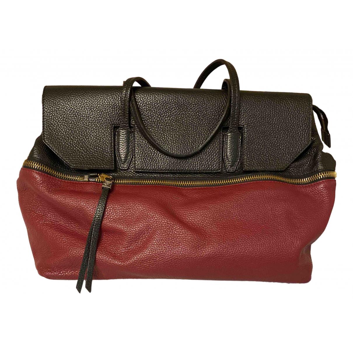 Gianni Chiarini \N Burgundy Leather handbag for Women \N