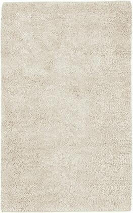 Aros Collection AROS2-58 Rectangle 5' x 8' Area Rug  Hand Woven with Wool Material in Cream