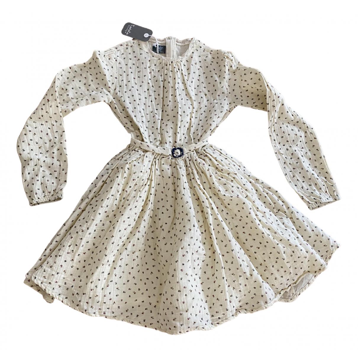 Tocoto Vintage - Robe    pour enfant en coton - multicolore