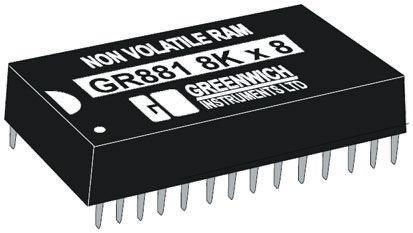 Greenwich Instruments GR3281-7 NVRAM, 256kbit, 70ns, 5V 28-Pin