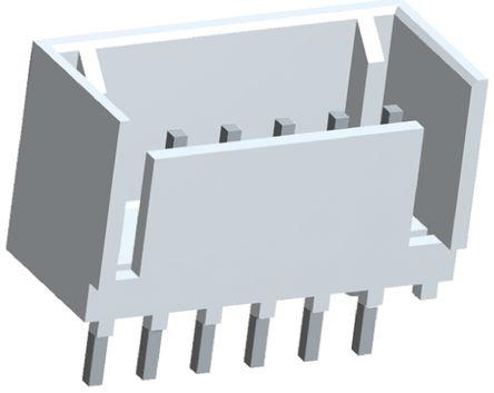 TE Connectivity , MTA-100, 8 Way, 1 Row, Straight PCB Header (5)