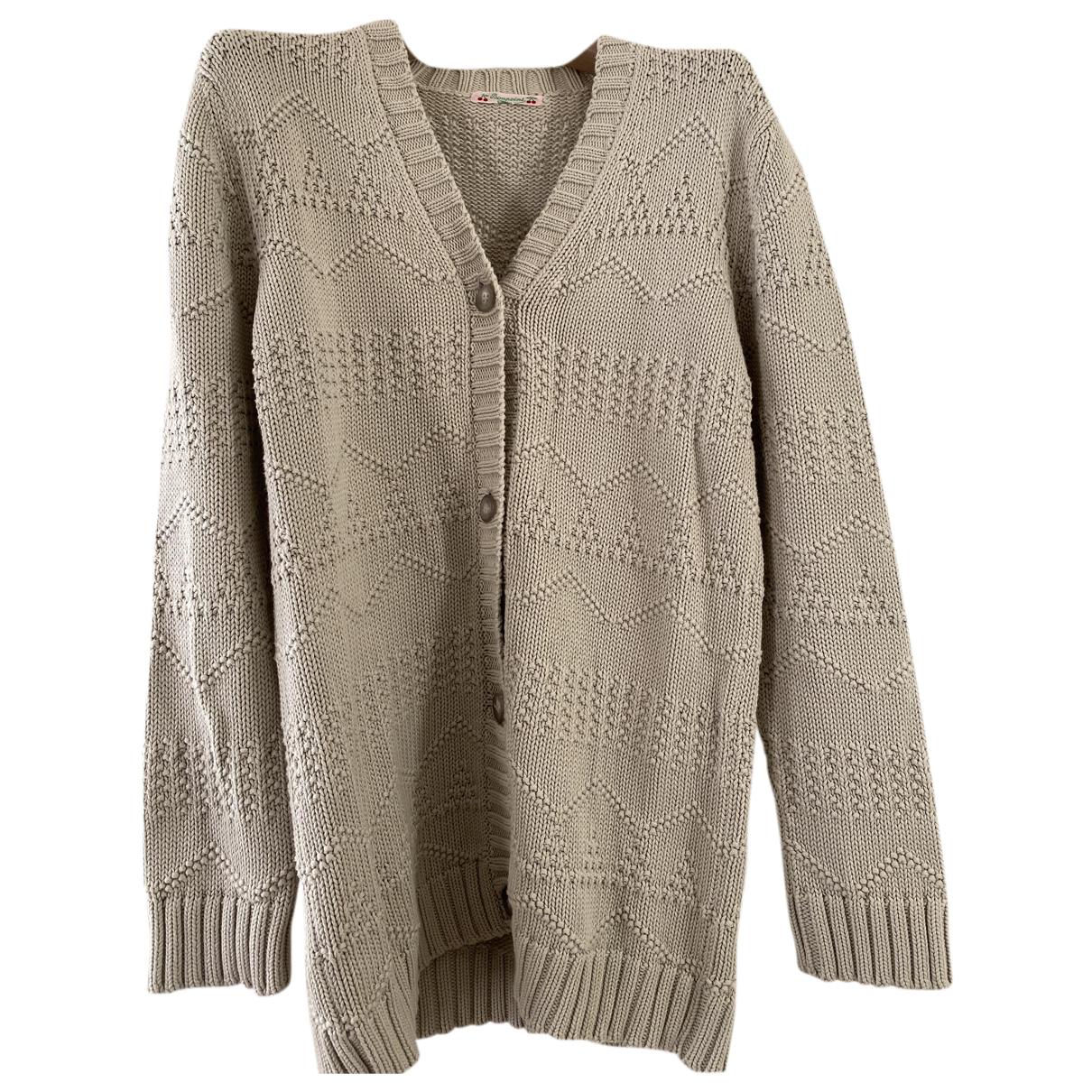 Bonpoint - Pull   pour enfant en coton - gris