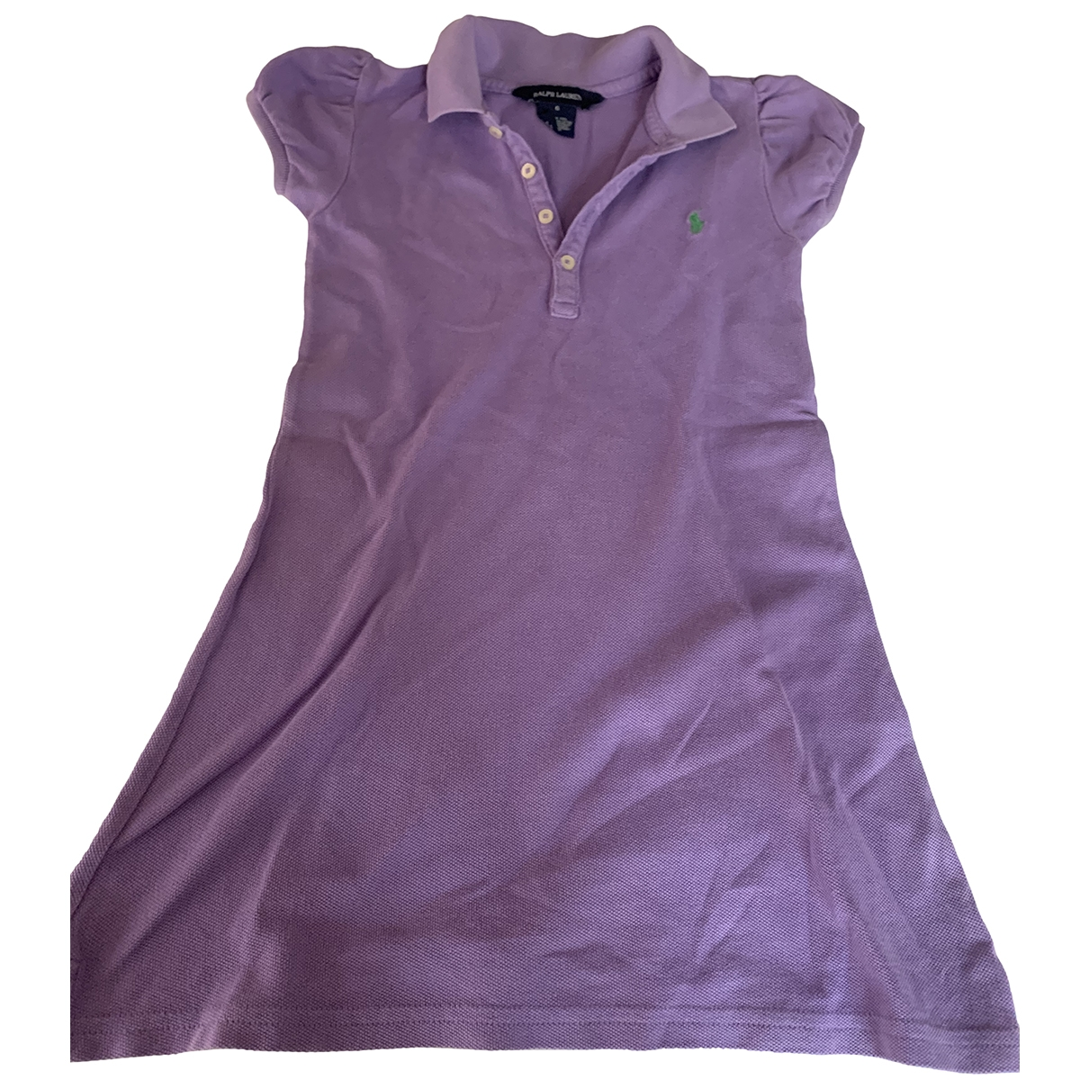 Polo Ralph Lauren \N Purple Cotton dress for Kids 6 years - up to 114cm FR