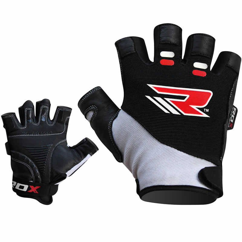 RDX S3 Hector Short Finger Heavy Weightlifting Workout Gym Gloves