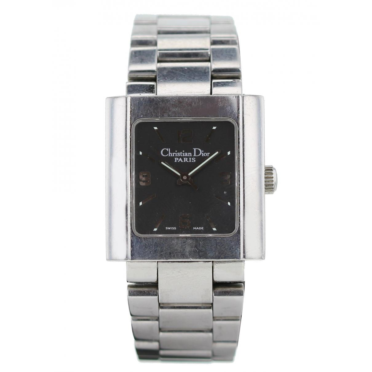 Dior \N Khaki Steel watch for Women \N
