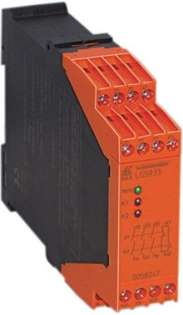 Dold LG5933 24 V ac/dc Safety Relay With 3 Safety Contacts  - Safemaster Range and 1 Auxiliary Contact