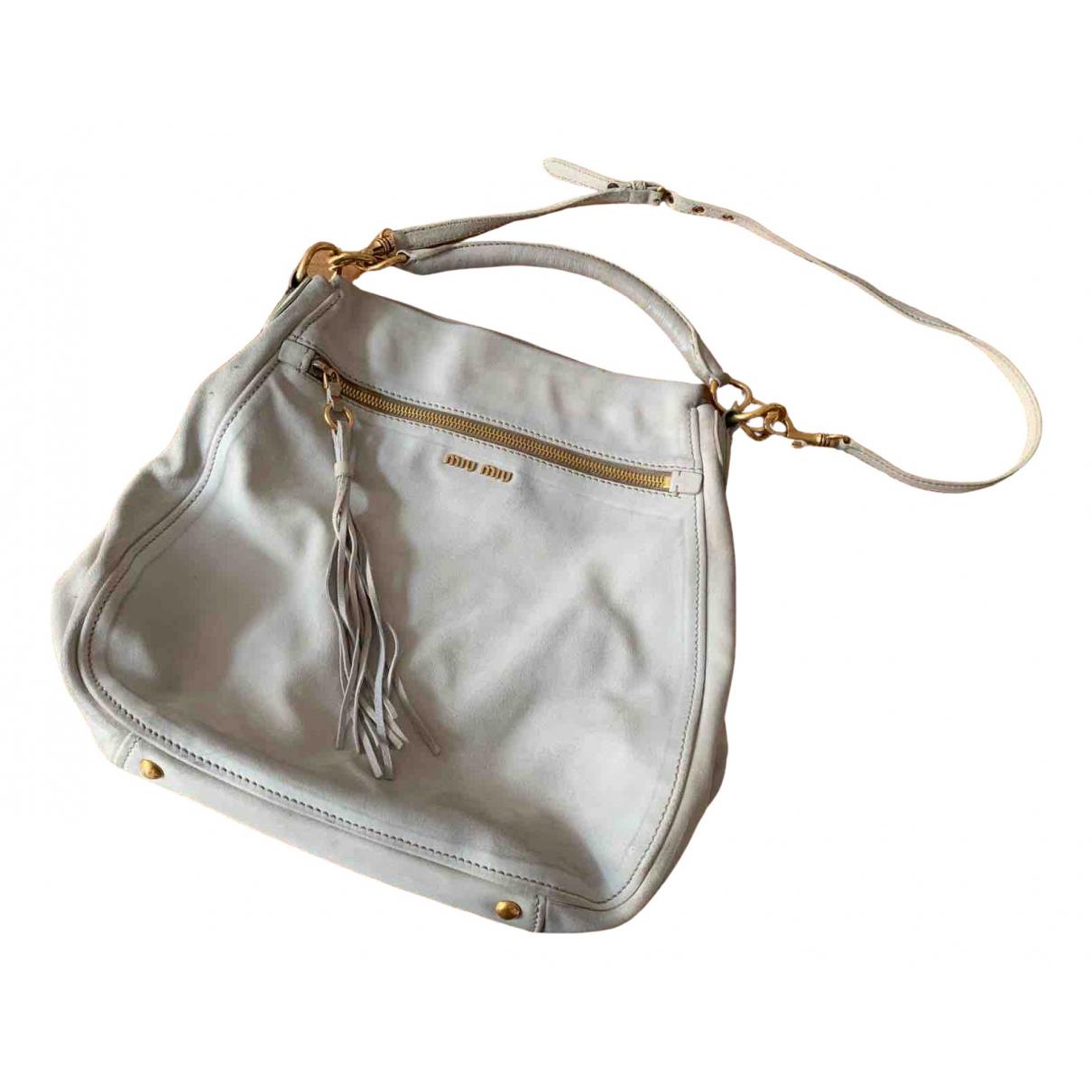 Miu Miu N White Suede handbag for Women N
