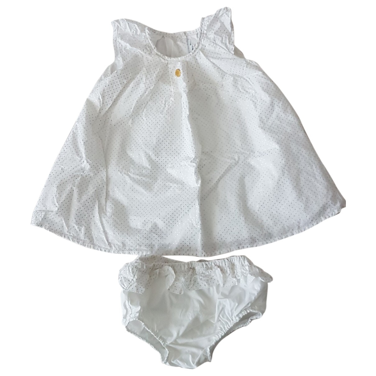 Boss \N White Cotton dress for Kids 6 months - up to 67cm FR
