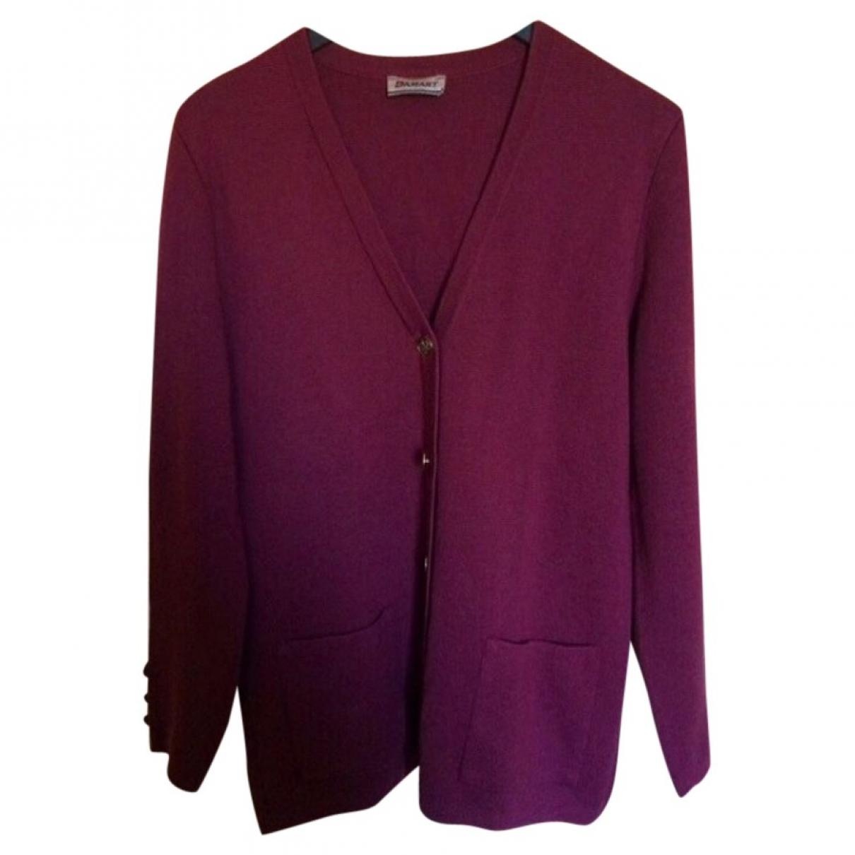 - Pull   pour femme en laine - rose