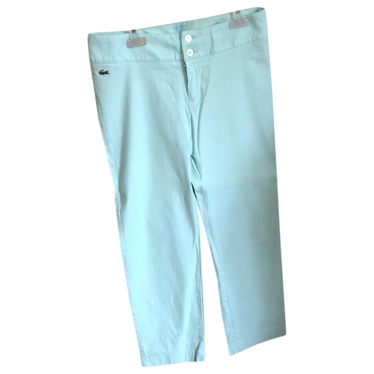 Lacoste - Pantalon   pour femme en coton