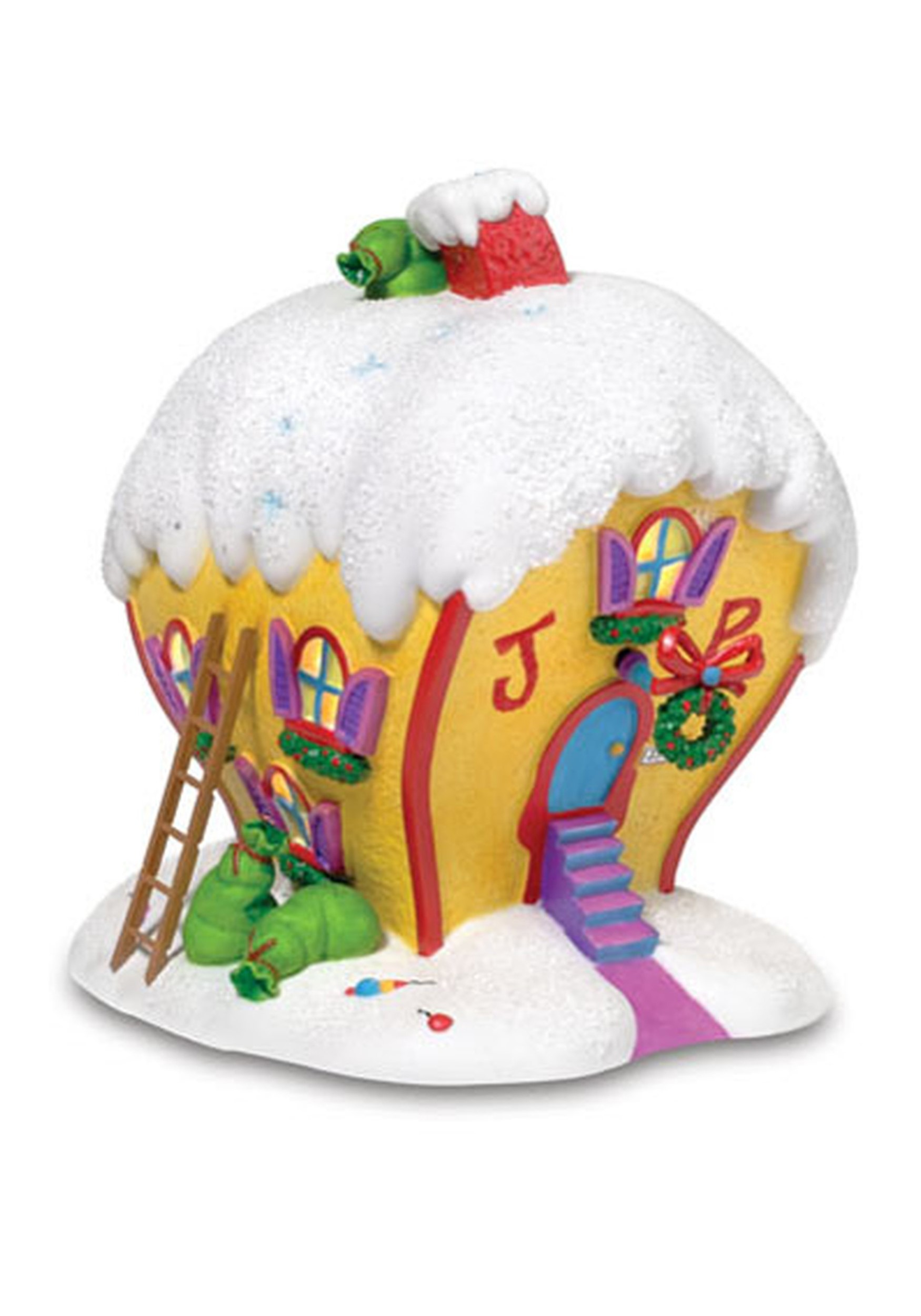 Department 56 The Grinch Cindy-Lou Who's House