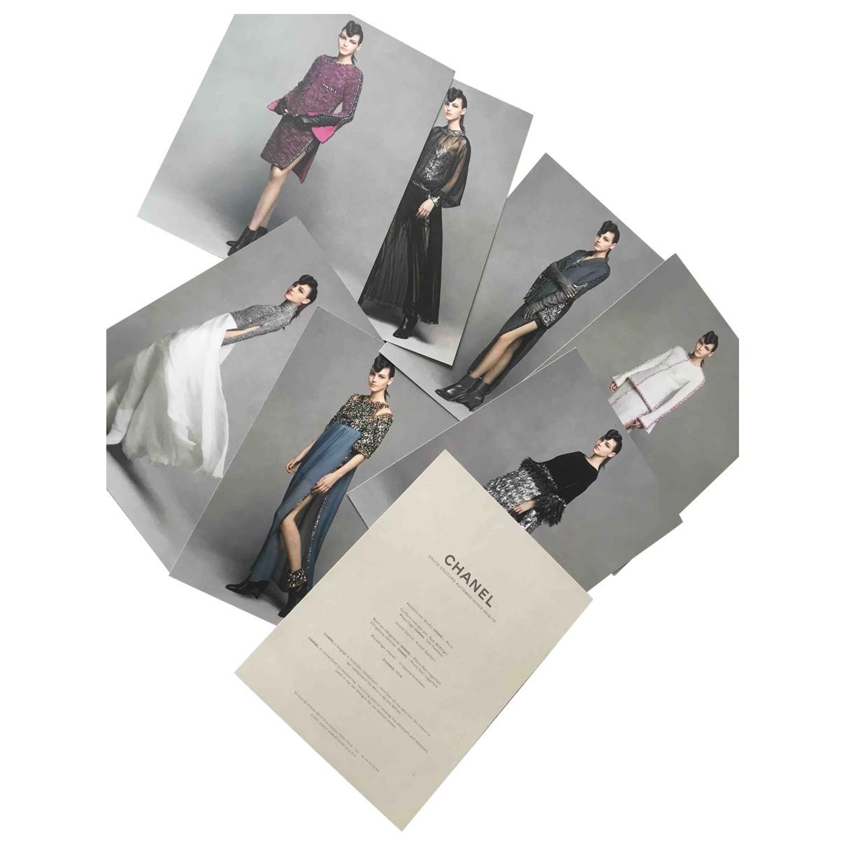 Chanel - Mode   pour lifestyle en coton - gris