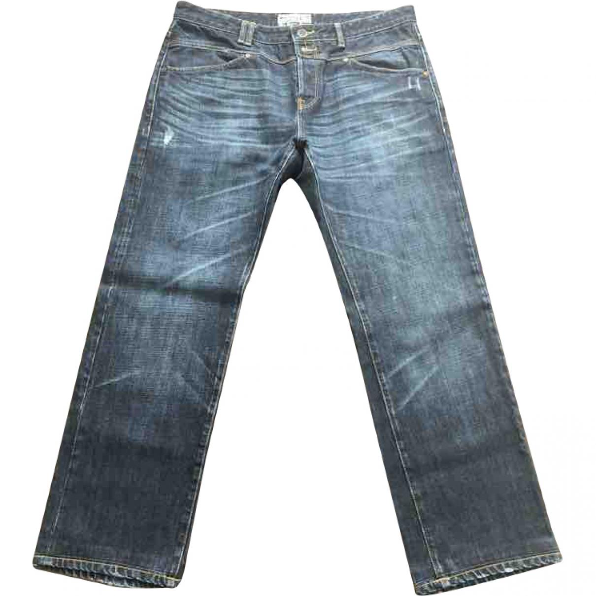 Closed \N Blue Cotton Jeans for Men 36 US