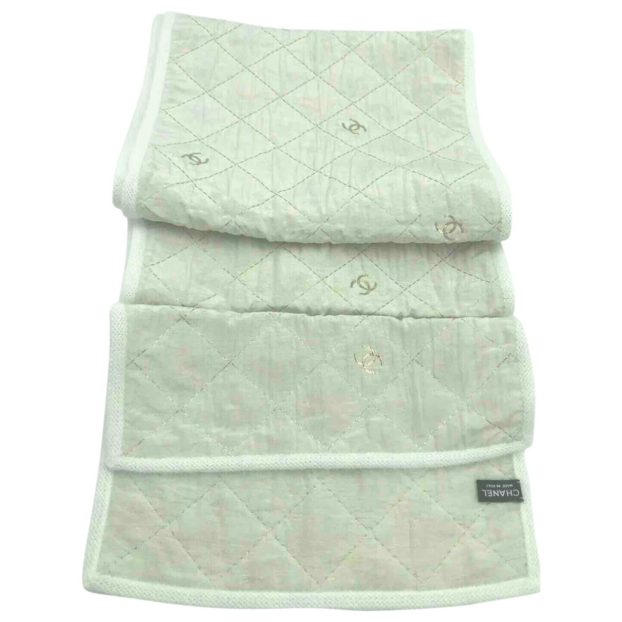 Chanel \N White Wool scarf for Women \N